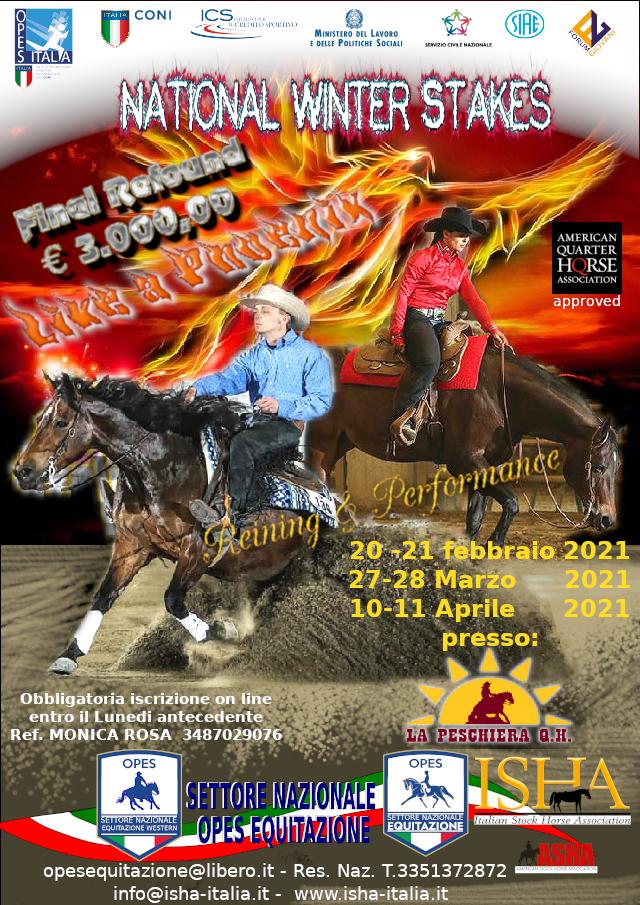 ISCRIVITI a REINING & PERFORMANCE presso LA PESCHIERA QUARTER HORSES @ LA PESCHIERA QUARTER HORSES