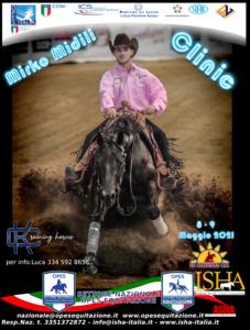 MIRKO MIDILI CLINIC @ LA PESCHIERA QUARTER HORSES