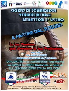 CORSO DI FORMAZIONE PER TECNICI EQUITAZIONE WESTERN @ I.S.H.A. Sede